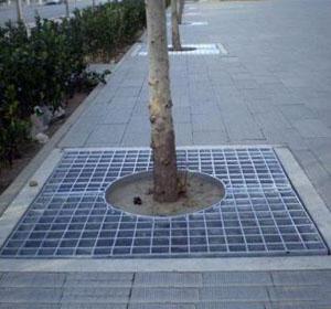 钢格板树池盖板